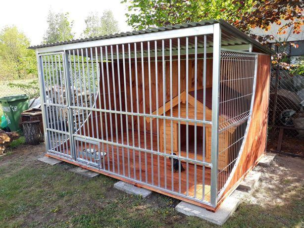 """Kojec dla psa klatka 3x2 boki """"ŁEZKA"""" drewno ocynkowany WYSOKA JAKOŚĆ"""
