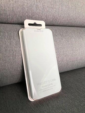 Nowe etui Samsung Wallet Cover do Galaxy A40 białe