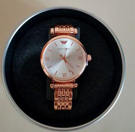 Emporio Armani zegarek damski na bransolecie nowy w pudełku