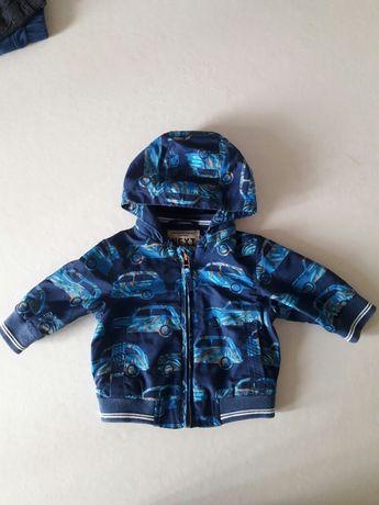 Курточка для мальчика 6 месяцев  68 см