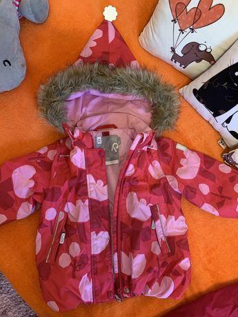 Зимний комплект Reima (курточка и полукомбинезон)