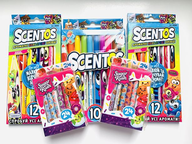 Ароматные карандаши Scentos