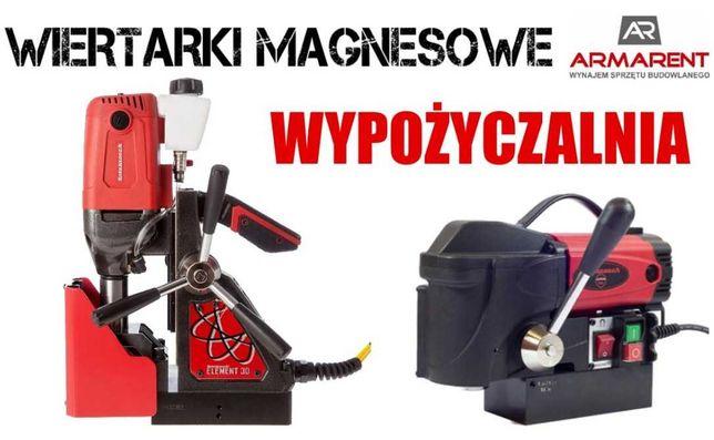 Wiertarka magnesowa WYNAJEM Wiertarka ze stopą magnetyczną