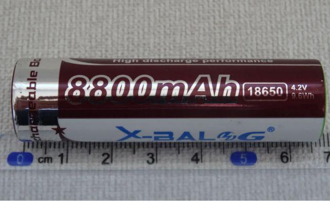 Аккумулятор X-BALOG 18650 mAh Purple