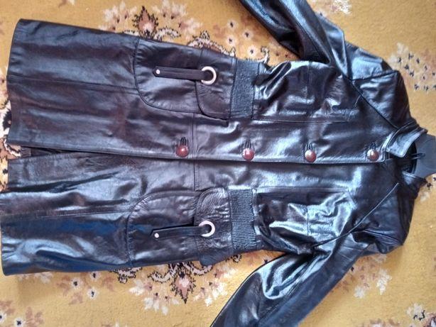 Кожаный френч, плащ, куртка