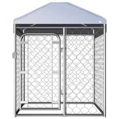 Canil de exterior com telhado 100x100x125 cm **envio grátis**