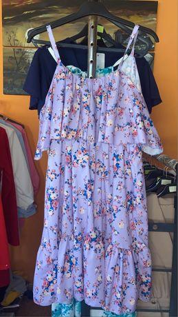 Vestido floral 2 cores