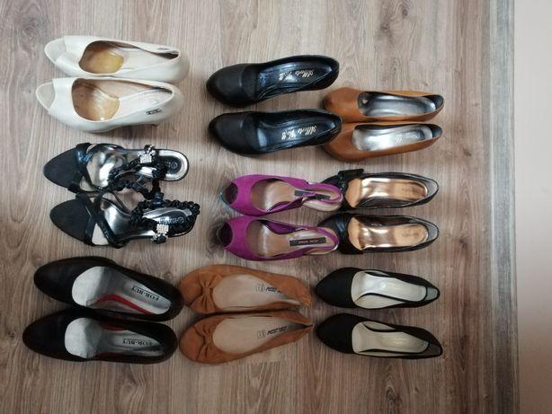 Zestaw 9 par butów w rozmiarach 39 i 40