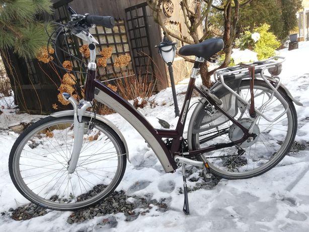 """Holenderski rower elektryczny marki Sparta 28"""" Stan jak nowy!"""