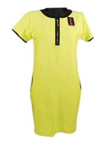RITA tunika sukienka damska seledynowa NOWA rozm XL