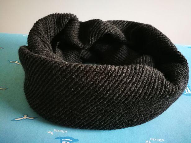 Komin męski Reserved zimowy NOWY czarny rozmiar uniwersalny