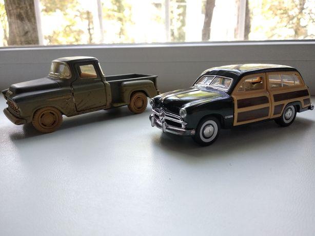 Kinsmart оригинал Chevy Stepside Pick-up Ford Woody машинка машина