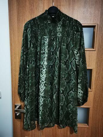 Sukienka tunika h&m rozmiar 40 oversize