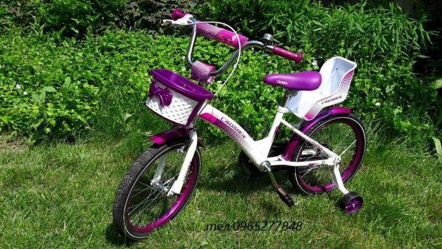 Велосипед для девочек Crosser Kids Bike/ Mustang Princessa