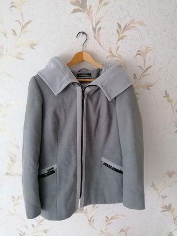 Kurtka płaszcz zimowa szara