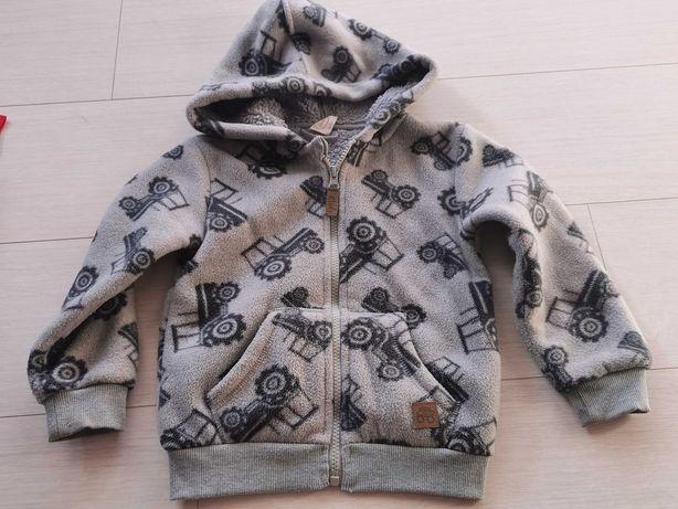 Bluza chłopięca kurtka polar 98 Cool Club Smyk ciepła