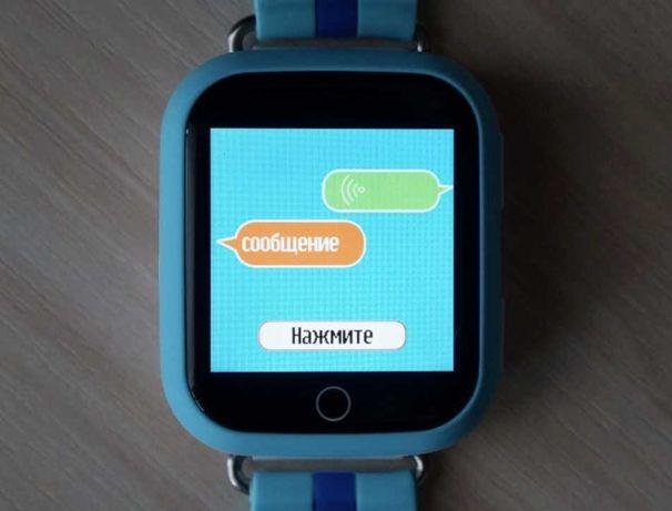 Детские смарт часы q100 умные часы для детей smart watch