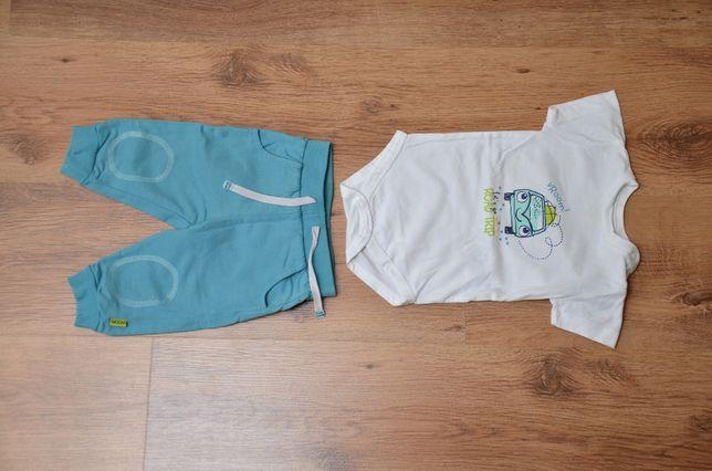Komplet spodnie body COOL CLUB roz. 68