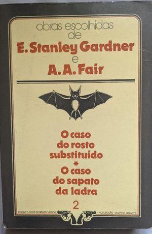 Obras escolhidas de E. Stanley Gardner e A. A. Fair