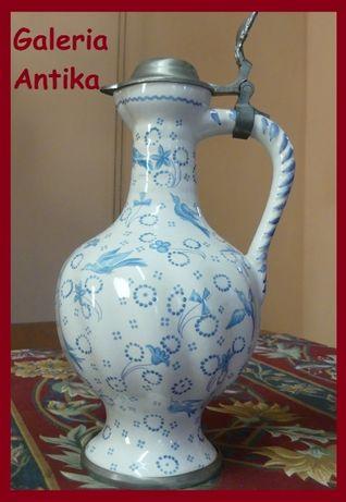 Kolekcjonerski KUFEL ceramiczny DZBANEK Sygnowany