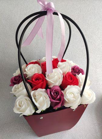 Букет из мыльных роз подарок