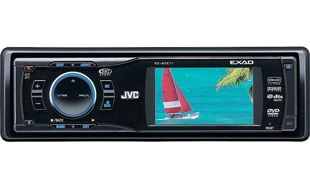 Radio JVC KD-AVX 11 IGŁA! + pilot