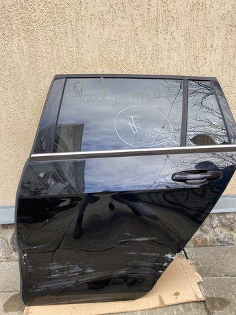 Дверь задняя левая VW/Volkswagen Golf/Гольф 7 стекло+ручка.