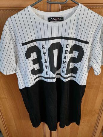 Bluzka XL czarno- biała