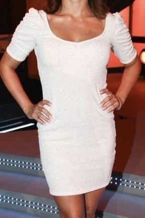 Sukienka H&M Anna mucha xs 34 brokatowa mini
