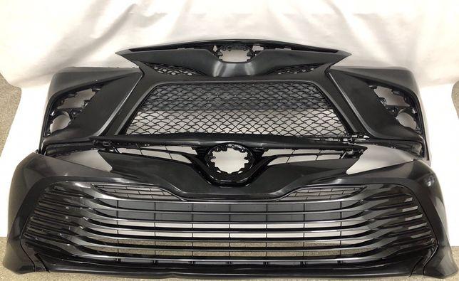 Toyota Camry 2018 SE LE бампер решетка фара камри капот