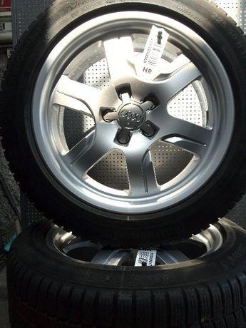 Koła zimowe AUDI Aluminiowe 5X112 7,5x17 ET28 225/50R17 dunlop