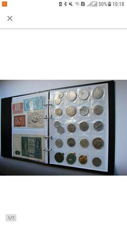 Альбом виробника SCHULZ-MARCIA VIP mix на монети і банкноти