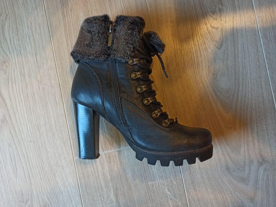 Ygd Bellini Шкіряні черевики жіночі зимові 39 розмір Львов - изображение 1