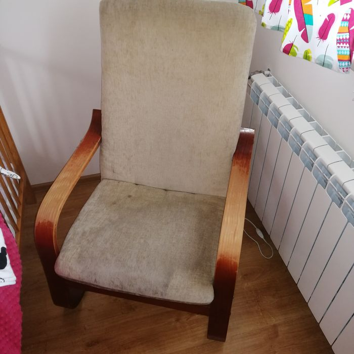 Fotel, drewniane boki Opalenica - image 1
