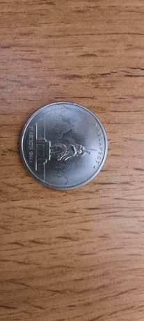 Монета 5 рублей юбилейные России