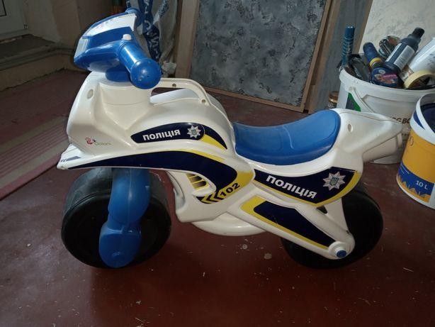 Толокар мотоцикл.