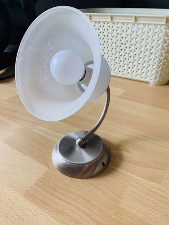 Lampa ścienna biała
