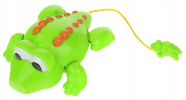 Zabawka Do Kąpieli Wanny Nakręcany Krokodyl -Superzabaweczki-
