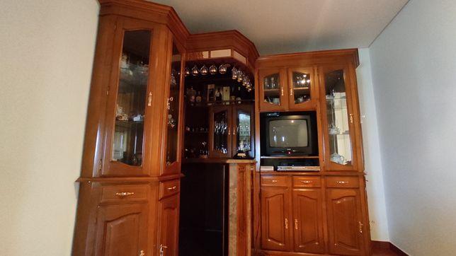 Bar e Sofá de sala