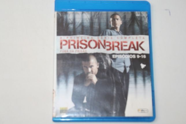 Blu-Ray - Prison Break - Episodios 9-6