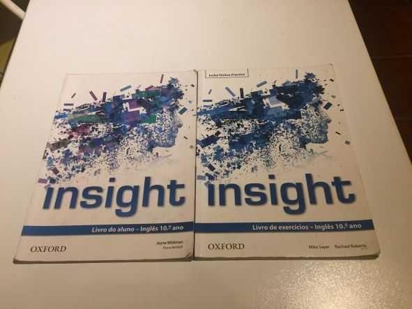 Livro Inglês Insight 10