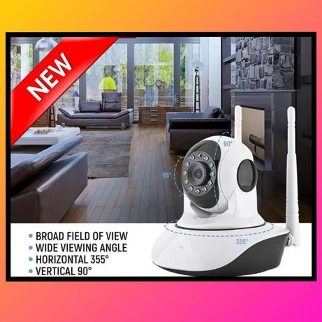 WI FI Камера видеонаблюдения датчик движения Cloud Camera / Вайфай кам