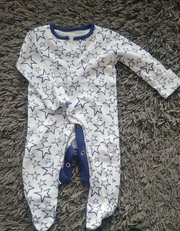 Ubranka dla niemowlaka / śpiochy pajac piżama 50/56 F&F/CoolClub