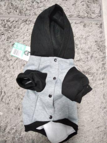 Ubranko dla psa bluza dresowa rozmiar 35 cm