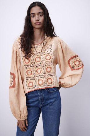 Топ блуза от zara