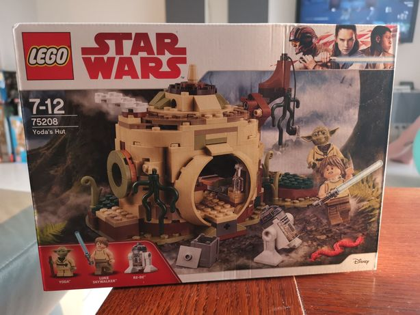 Lego 75208 Star Wars Chatka Yody, Nowa
