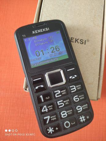 Телефон мобильный кнопочный две симки Состояние Нового