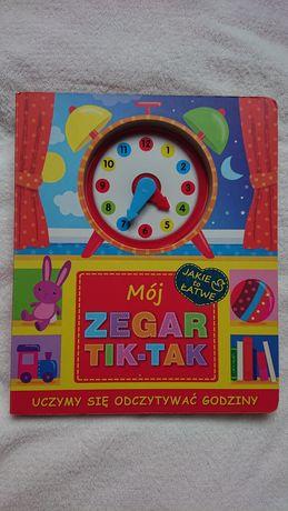 "Książka do nauki zegara ""Mój zegar Tik-Tok"""