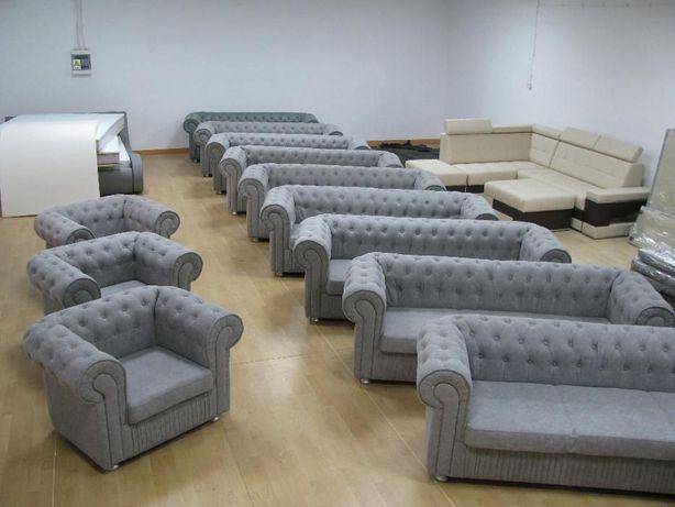 Sofa pikowana, kanapa Chesterfield, fotel, narożnik