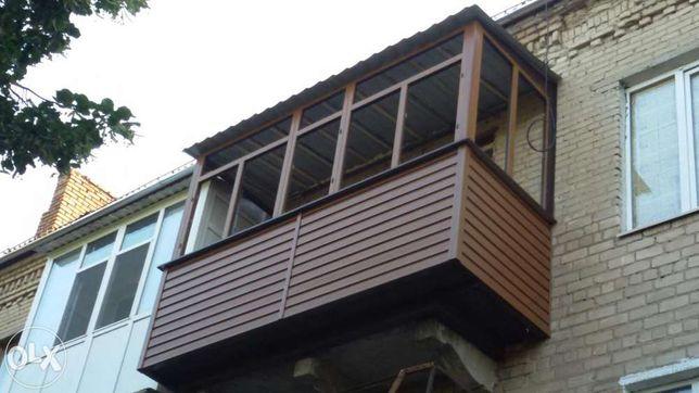 Окна. Двери. Балконы под ключ. Наружная, внутренняя обшивка. РАССРОЧКА
